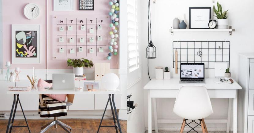 12 ideas creativas para decorar tu oficina