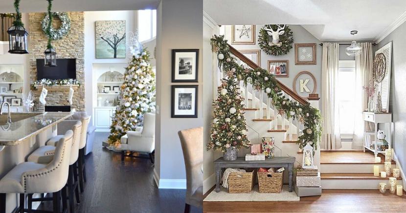 12 ideas originales para decorar tu casa de Navidad