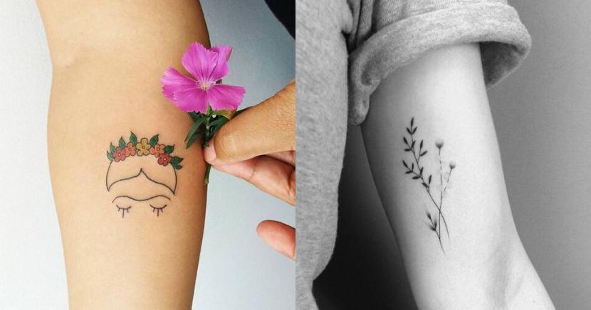 12 tatuajes minimalistas que amarás