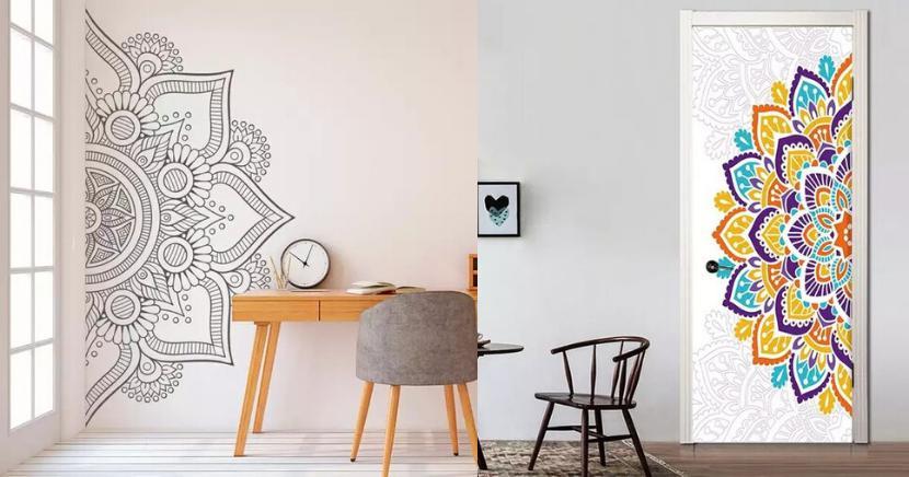 15 Hermosas Ideas de mandalas para Decorar tu casa