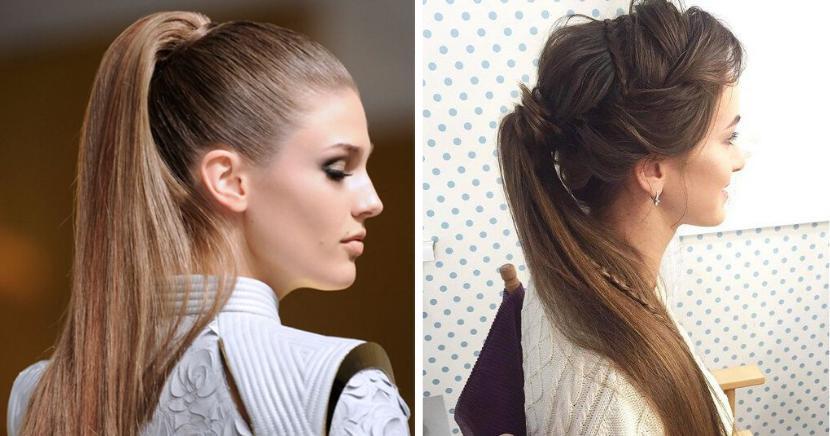 Peinados con cola de caballo que puedes hacer en menos de 15 minutos