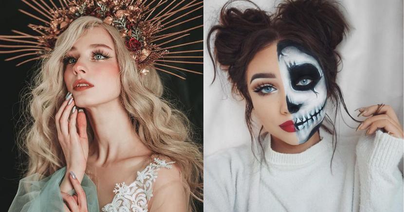Arrasa este Halloween con un maquillajes aesthetic, ¡solo para atrevidas!