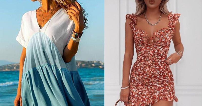 Geniales vestidos de verano que debes tener ya en tu armario