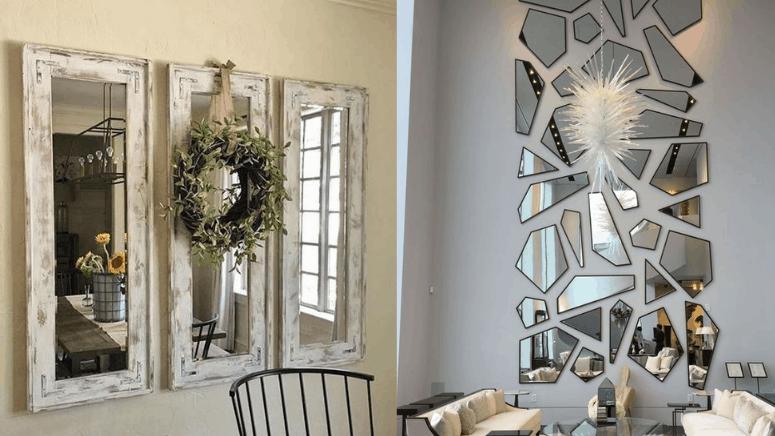 Ideas de espejos estilo pinterest para decorar cualquier habitación