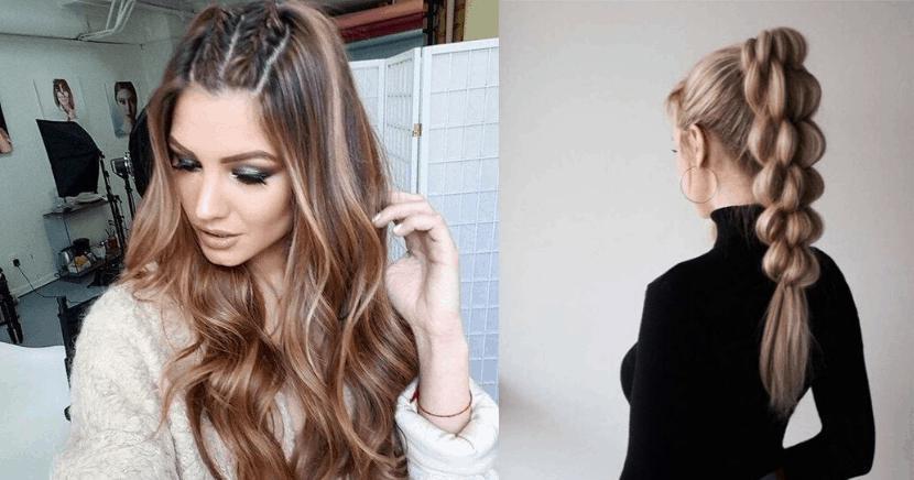 Peinados que te harán desear tener cabello largo