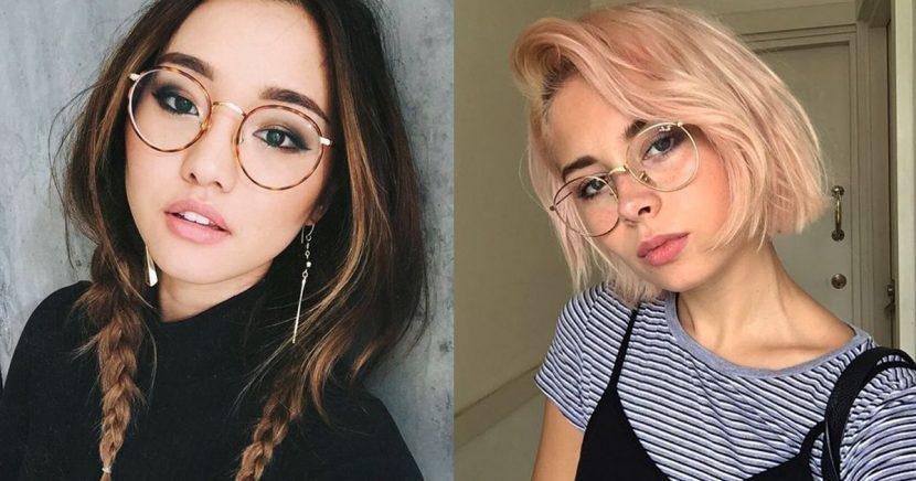 Peinados y estilos de cabello que te harán ver más guapa si usas lentes