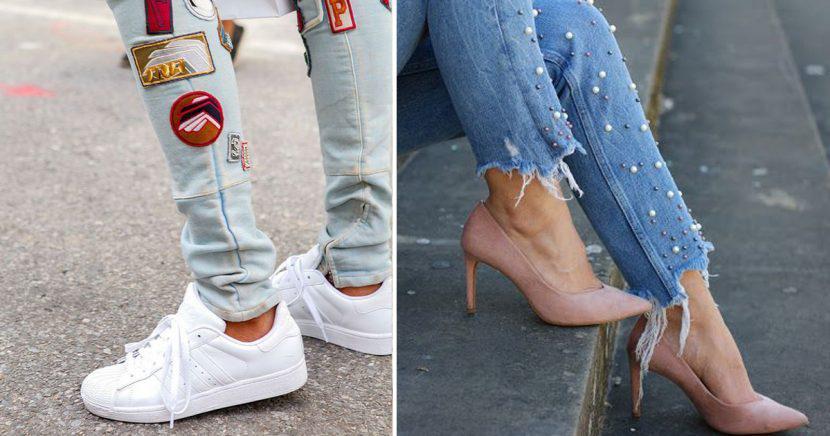 12 Sencillas Y Hermosas Maneras De Decorar Tus Jeans Viejos
