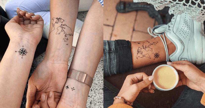 Tatuajes que toda alma viajera amará