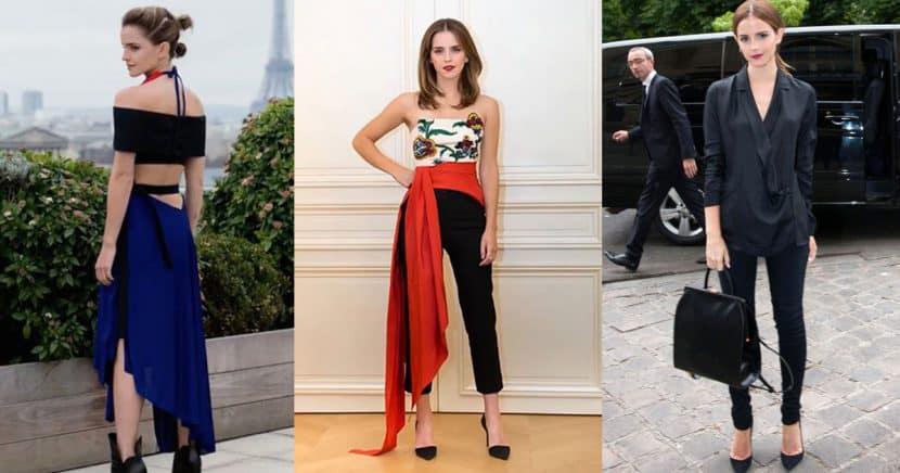 Estos son los básicos de Emma Watson para siempre lucir elegante