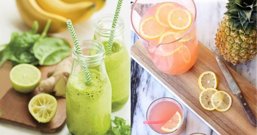 Deliciosas recetas de bebidas Detox con limón