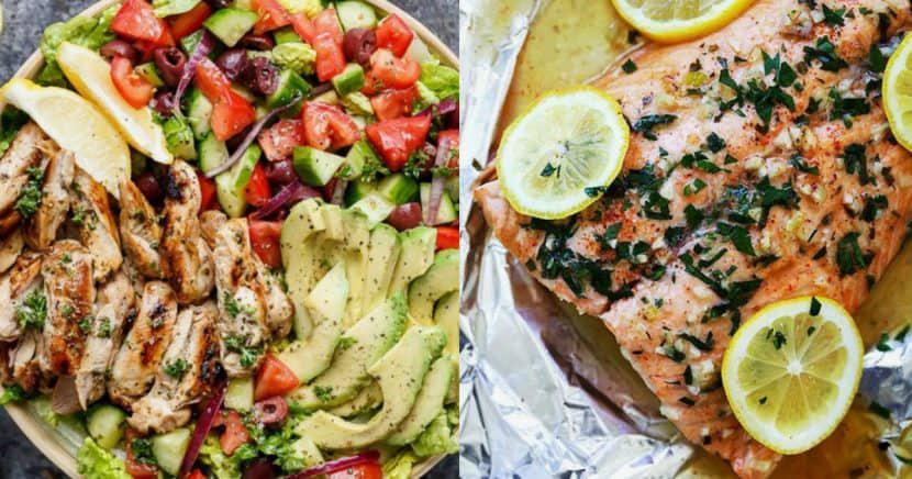 10 cenas deliciosas que te ayudarán a no engordar