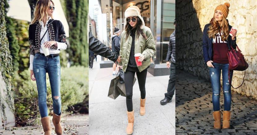 Aprende a combinar tus botas UGG en invierno como toda una fashionista