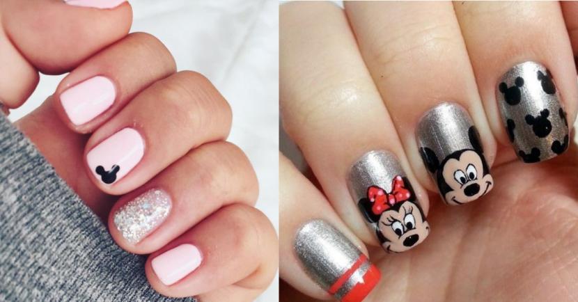 14 diseños de uñas de Mickey Mouse para conmemorar su aniversario