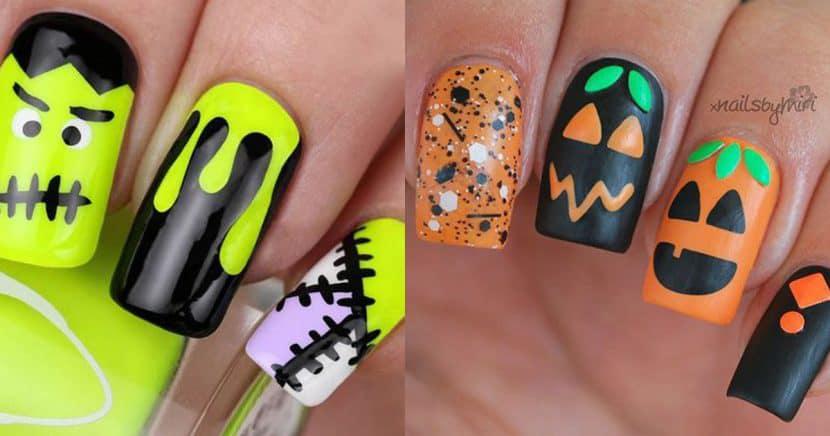 ¡Terrorífico! 15 Diseños De Uñas Para Halloween Que Amarás