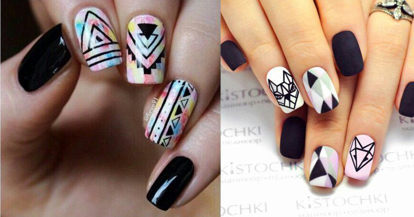 18 Diseños de uñas tribal que te convertirán en la más cool