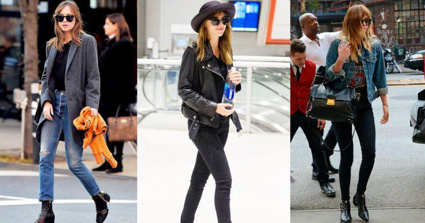 Inspírate en el estilo de Dakota Johnson para conquistar el street style