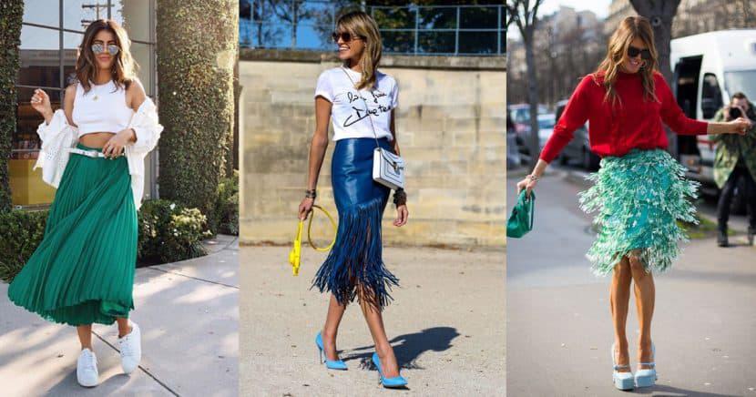 17 faldas que te harán ver como una fashion blogger