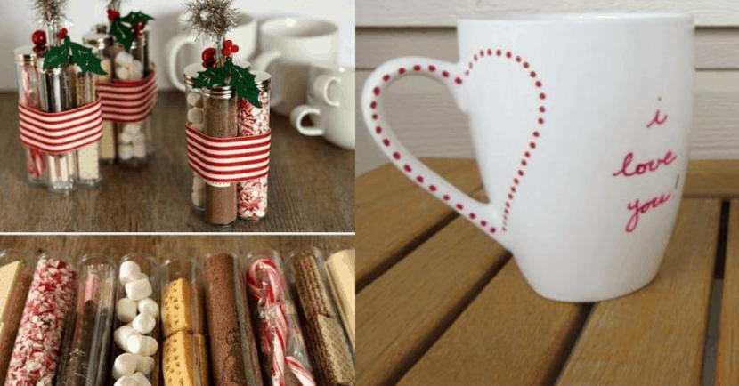 12 Ideas de Regalitos (DIY) para Navidad! Regala amor!