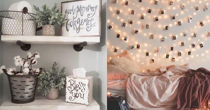 Ideas fáciles y baratas para decorar tu cuarto
