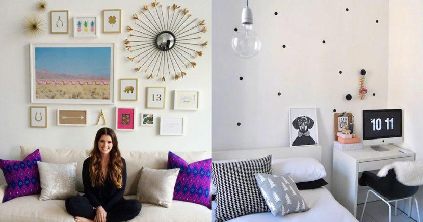 16 ideas increíbles para decorar una pared aburrida