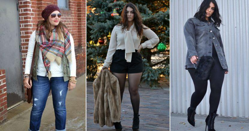 12 outfits de invierno para chicas curvy