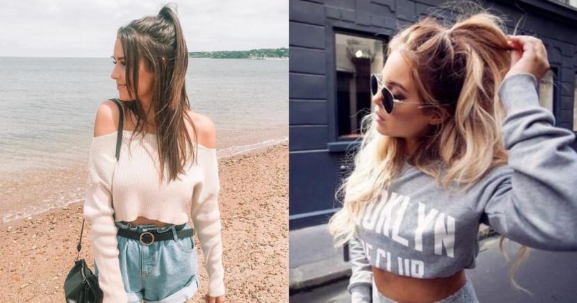 Diferentes peinados de media cola para cada día de la semana