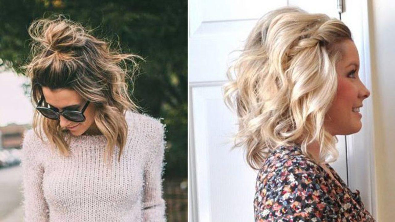 12 peinados para chicas con pelo corto