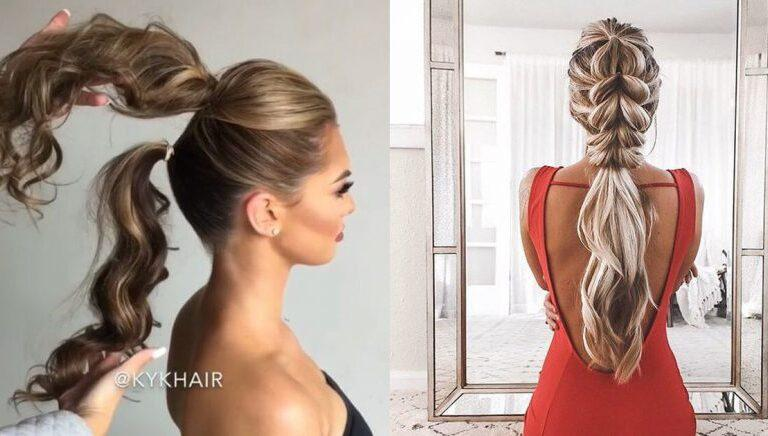 14 peinados para chicas de pelo largo que les darán un toque de estilo