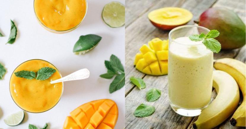 Smoothies de mango: 3 deliciosas recetas que ayudarán a mantenerte fit