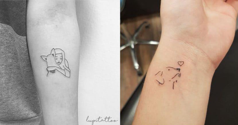 Tatuajes de perros para llevarlos siempre contigo