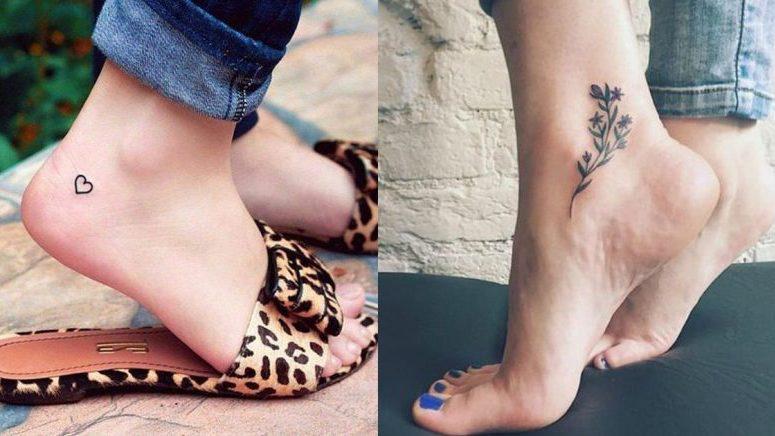 15 tatuajes que llenarán de estilo tu tobillo
