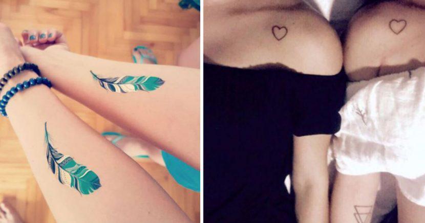 12 tatuajes que debes hacerte con tu mejor amiga