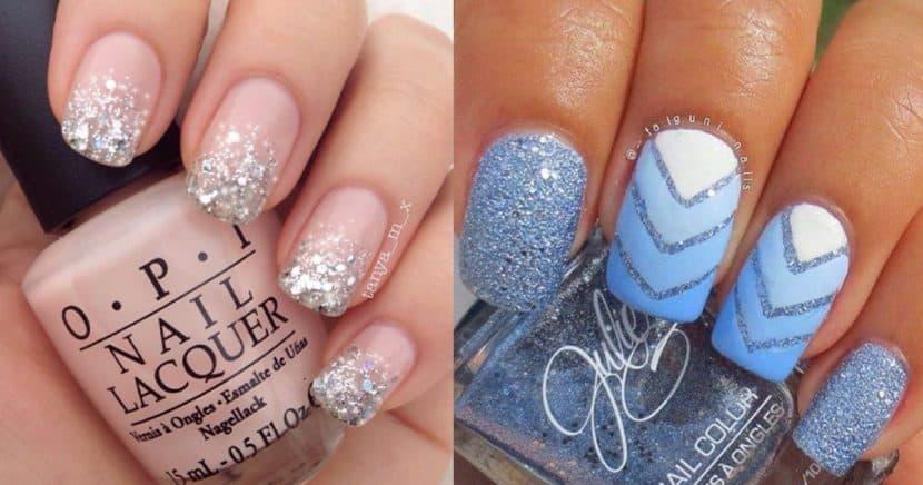 Las uñas glitter son todo lo que necesitas para lucir espectacular