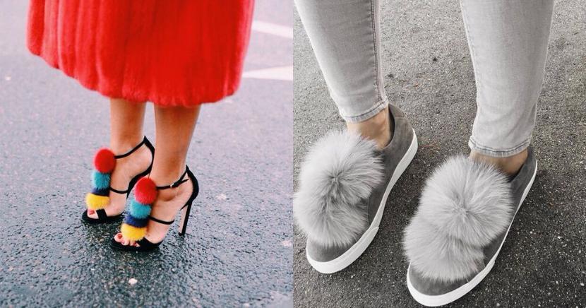 12 formas de usar unos zapatos pom pom y no morir en el intento