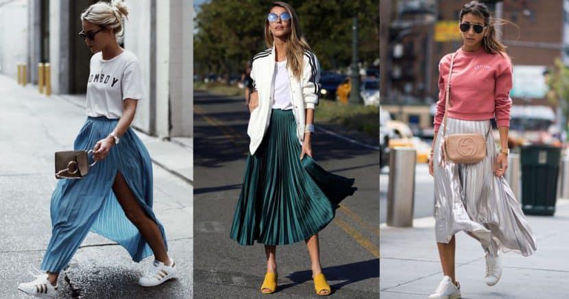 Formas increíbles de usar una faldas plisadas