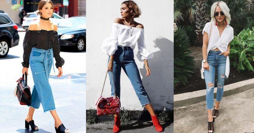 Formas de utilizar unos cropped jeans según tu tipo de cuerpo