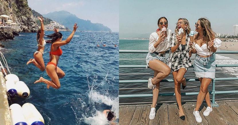 Fotos que tienes que tomarte con tu mejor amiga durante verano