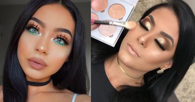 Ideas increíbles de maquillaje para tu fiesta de Fin de Año