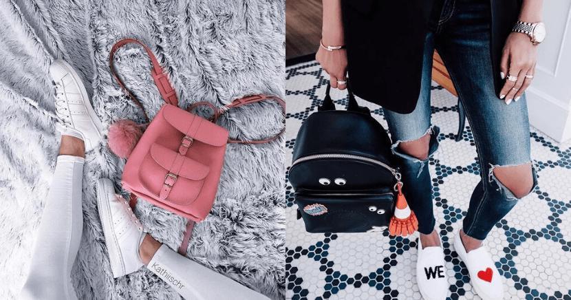 ¡Las mini backpacks se convierten en el nuevo objeto del deseo!