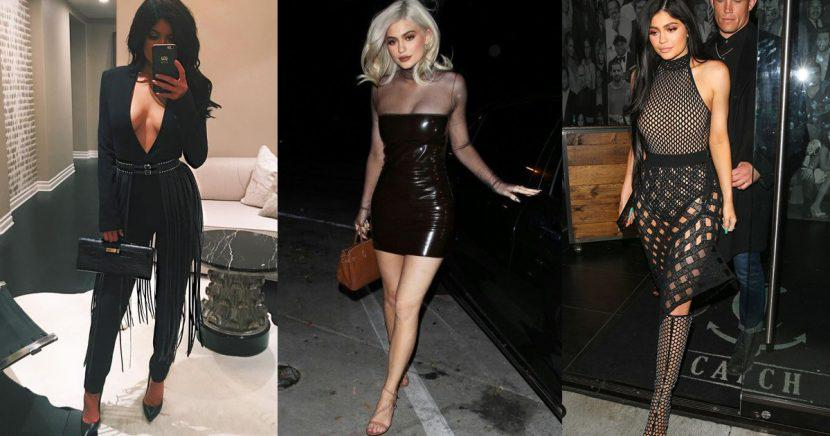 Looks Kylie Jenner para noche de Año Nuevo