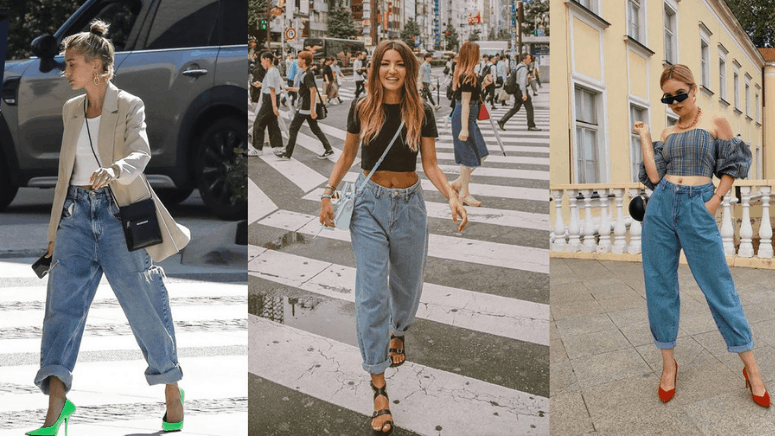 ¡Los slouchy jeans la prenda más trendy del street style!