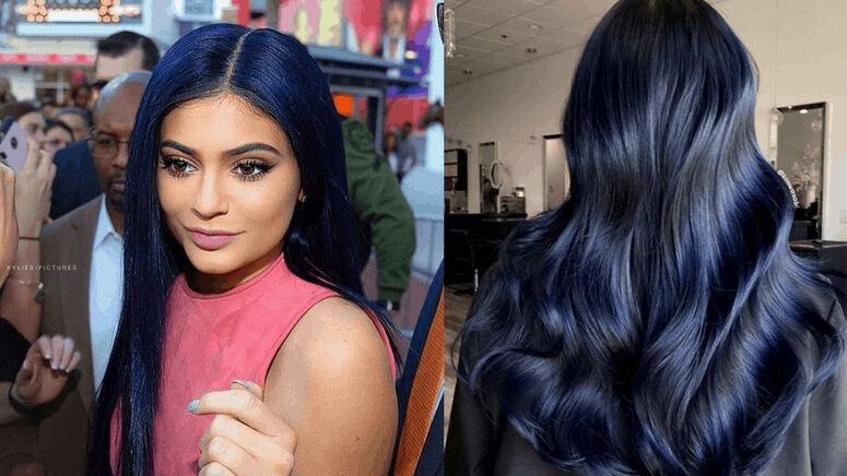 Midnight Denim: El tono ideal para las mujeres con cabello obscuro