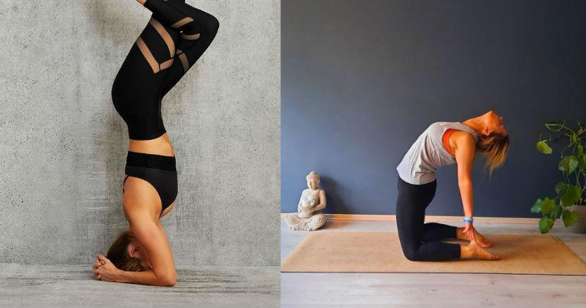 Posturas o asanas de yoga para marcar tu cuerpo y comenzar bien el día