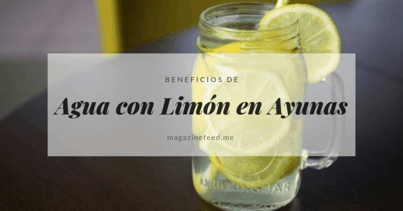 Agua con Limón en Ayunas.. El DETOX perfecto!