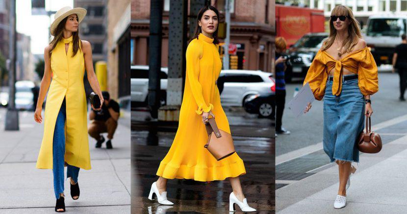El amarillo se convierte en el color del verano ¡Aprende a combinarlo!