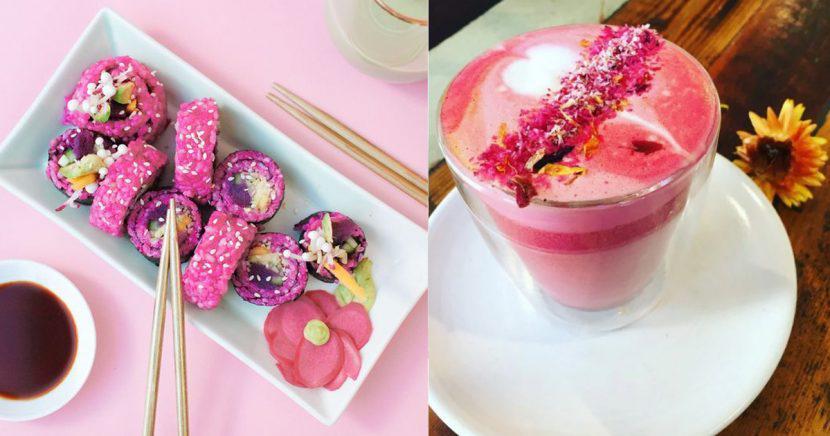 ¡Comida rosa que querrás probar ASAP!