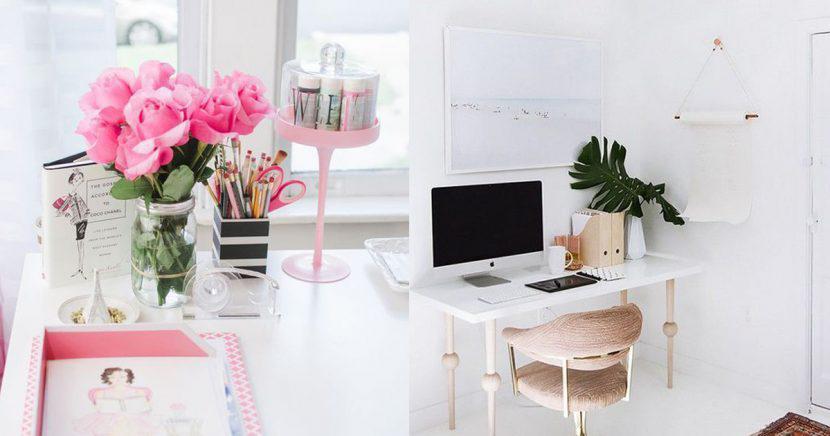 Formas de decorar tu escritorio como el de una fashion blogger