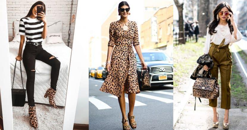 Saca tu lado más salvaje con estos diseños de ropa animal print