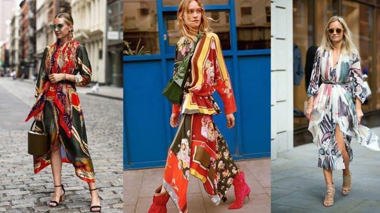 Pañuelo+vestido= ¡Combo fashionista! Aprende a usar el scarf dress