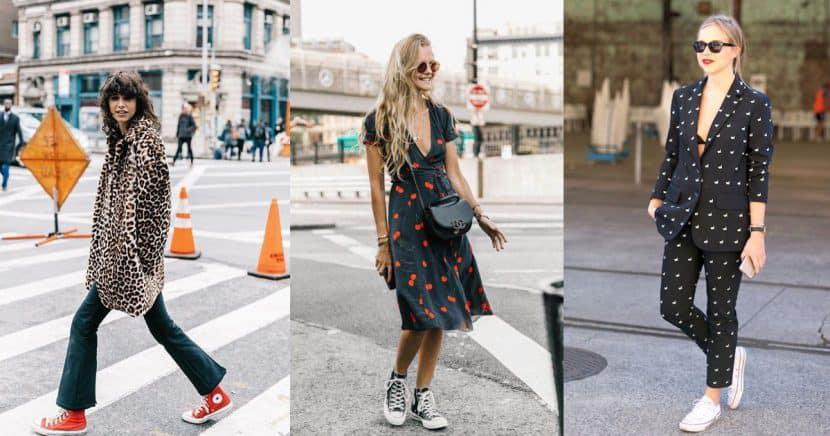 Formas súper cool de combinar tus converse para brillar en el street style